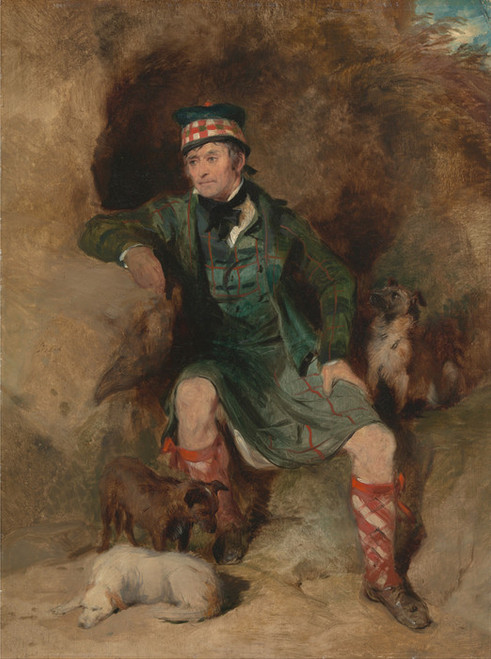 Art Prints of Donald McIntyre by Edwin Henry Landseer
