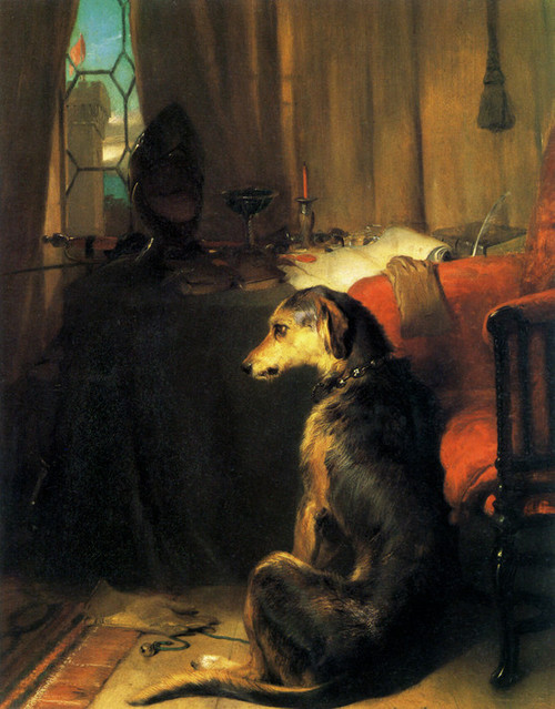 Art Prints of High Life by Edwin Henry Landseer