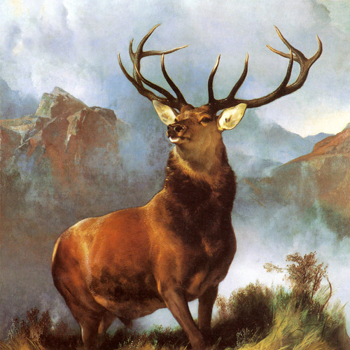 Art Prints of Monarch of the Glen by Edwin Henry Landseer