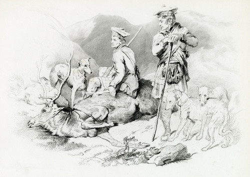 Art Prints of Rest by Edwin Henry Landseer