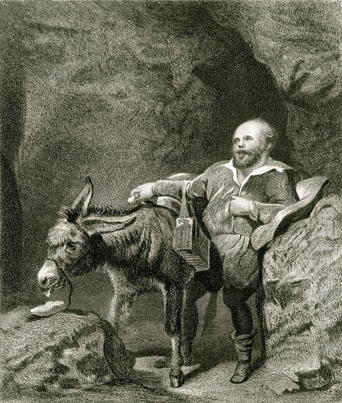 Art Prints of Sancho Panza by Edwin Henry Landseer