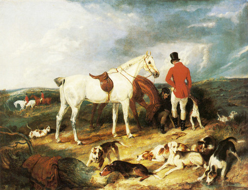 Art Prints of The Change by Edwin Henry Landseer