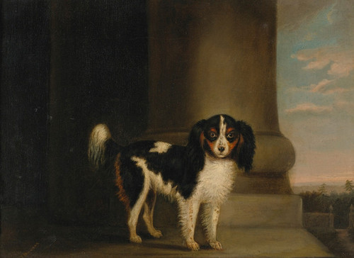 Art Prints of King Charles Spaniel by Edwin Henry Landseer