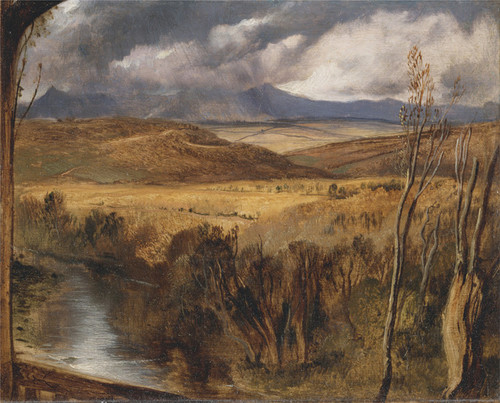Art Prints of A Highland Landscape by Edwin Henry Landseer