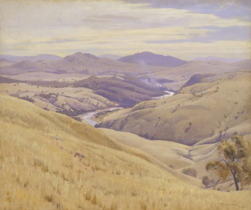 Art Prints of Weetangera, Canberra by Elioth Gruner