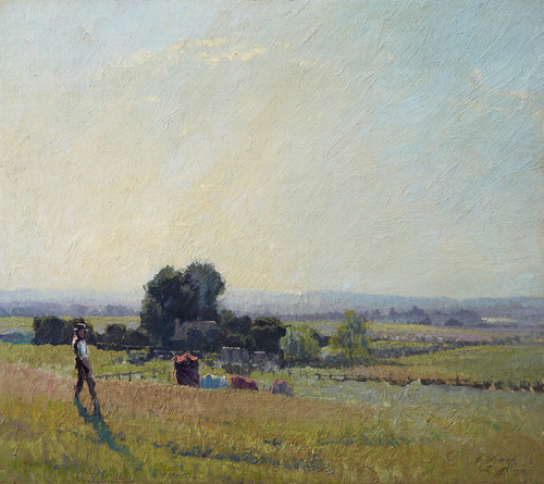 Art Prints of Morning Light by Elioth Gruner