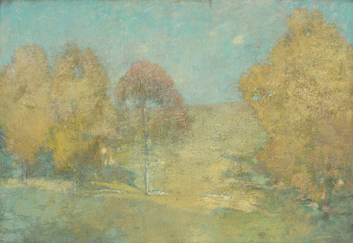 Art Prints of Autumn Morning, Fading Moon by Emil Carlsen