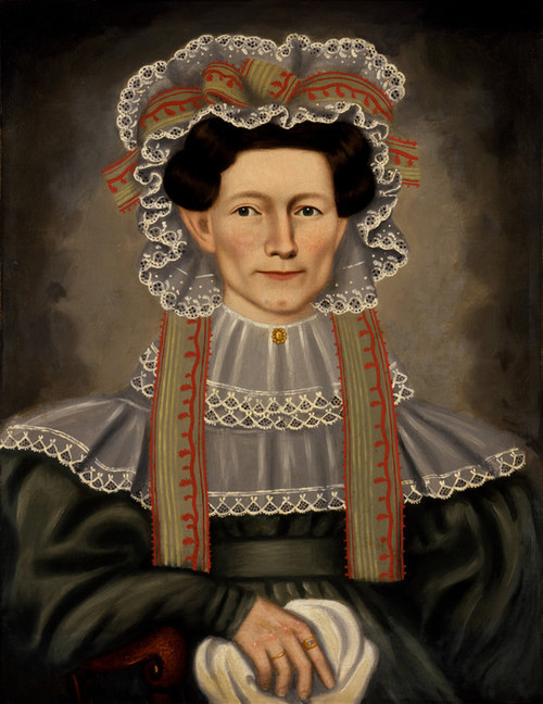 Art Prints of Lady of Squire Williams House by Erastus Salisbury Field