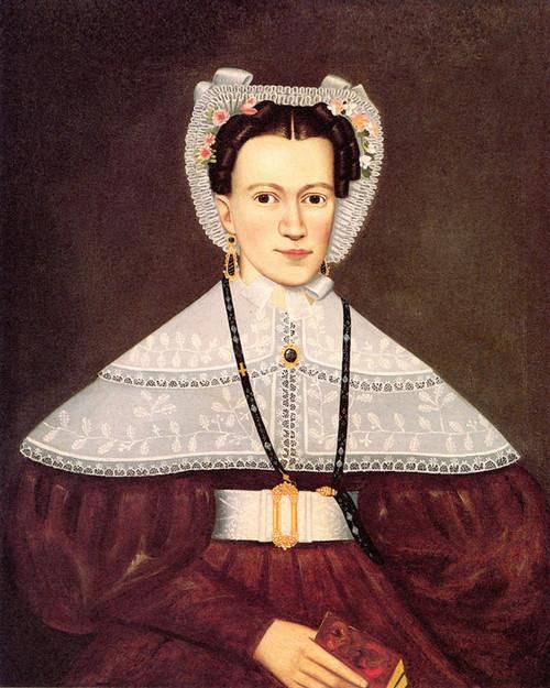 Art Prints of Mrs. Pearce by Erastus Salisbury Field