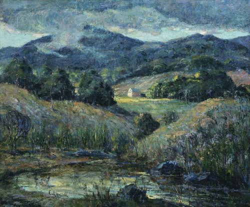 Art Prints of Approaching Storm by Ernest Lawson