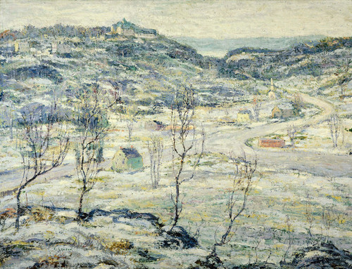 Art Prints of Harlem Valley Winter by Ernest Lawson