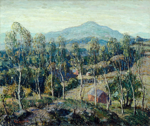 Art Prints of New England Birches by Ernest Lawson