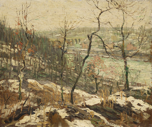 Art Prints of Landscape near the Harlem River by Ernest Lawson