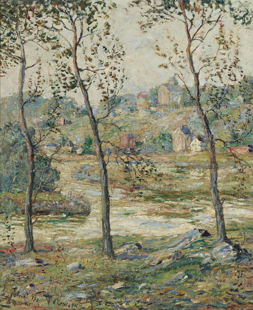 Art Prints of The Arm of the Harlem River by Ernest Lawson