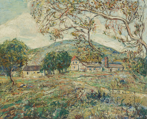 Art Prints of The Red Turret by Ernest Lawson