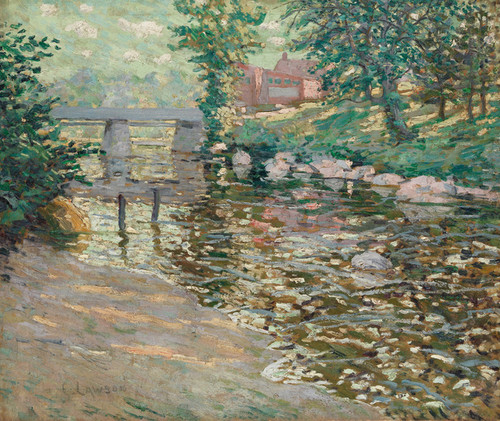Art Prints of The Bronx River by Ernest Lawson