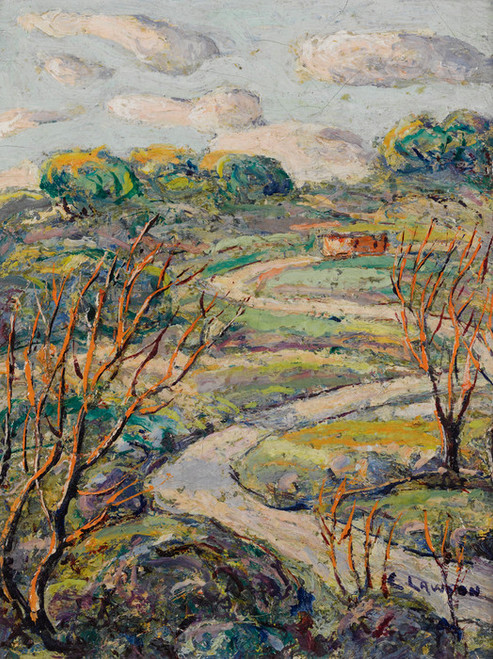 Art Prints of The Winding Road by Ernest Lawson