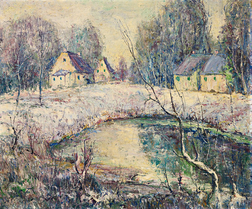 Art Prints of Winter by Ernest Lawson