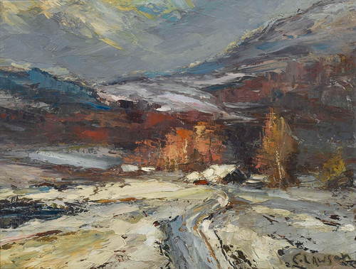 Art Prints of Winter Scene by Ernest Lawson