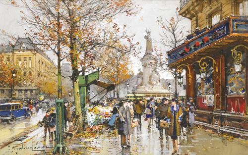 Art Prints of Republic Square by Eugene Galien-Laloue