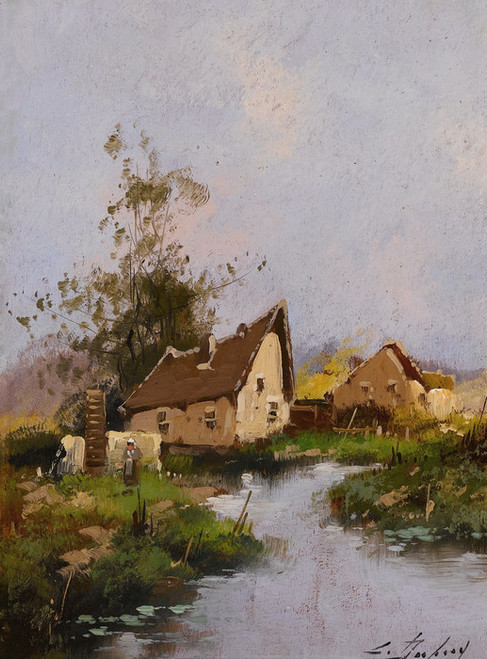 Art Prints of Paysage III or Landscape III by Eugene Galien-Laloue