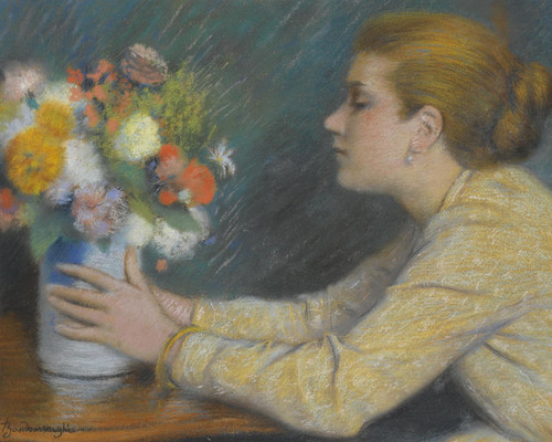 Art Prints of The Bouquet by Federico Zandomeneghi