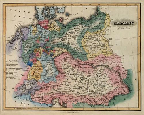 Art Prints of Germany, 1823 (4584025) by Fielding Lucas Jr.