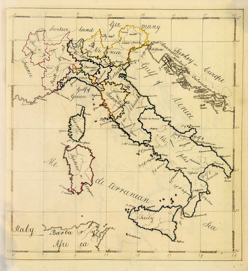 Art Prints of Italy, 1810 (4871020) by Frances Bowen