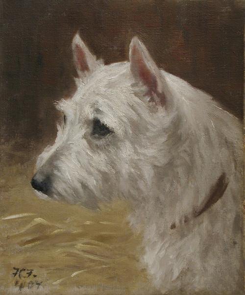 Art Prints of West Highland Terrier by Frances Fairman