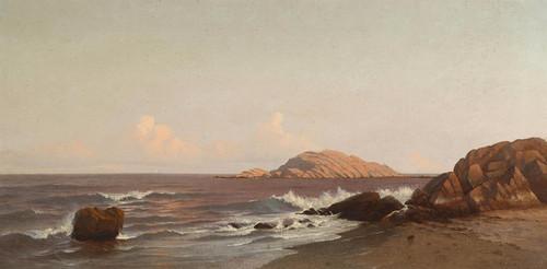 Art Prints of Braces Rock, Cape Ann, Massachusetts by Francis Augustus Silva