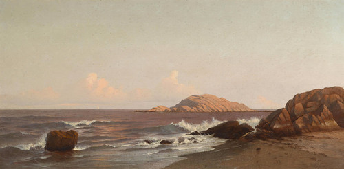 Art Prints of Braces Rock, Cape Ann, Massachusetts by Francis Augustus Silva
