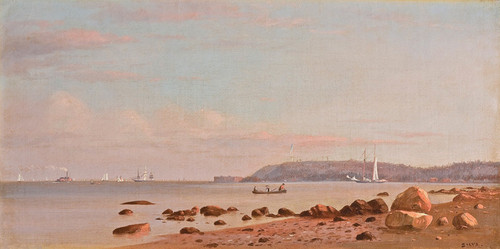 Art Prints of Along the New England Coast by Francis Augustus Silva