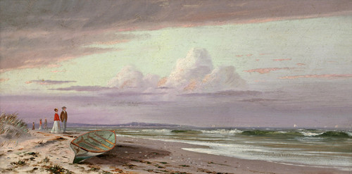 Art Prints of On the Connecticut Shore by Francis Augustus Silva