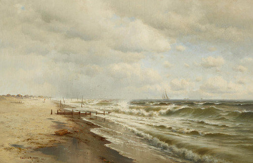 Art Prints of Monmouth Beach, New Jersey by Francis Augustus Silva