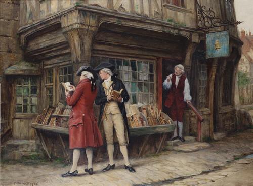 Art Prints of The Last Customers by Frank Moss Bennett