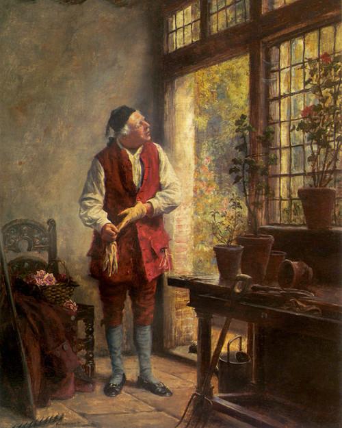 Art Prints of The Gardener by Frank Moss Bennett