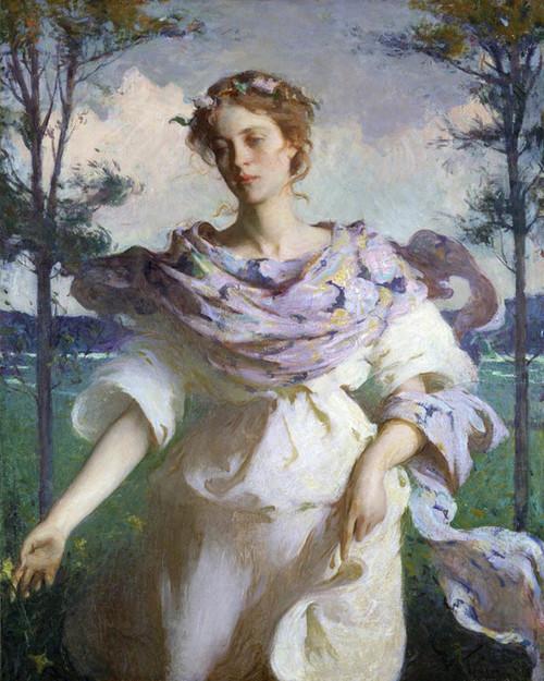 Art Prints of Summer, 1890 by Frank Weston Benson