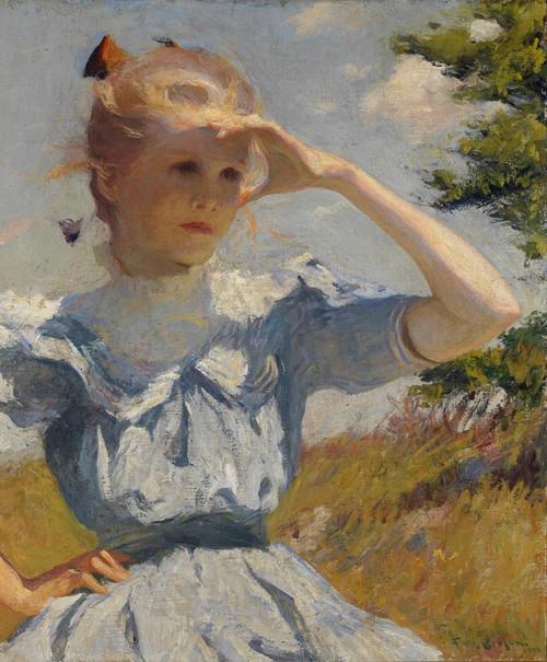Art Prints of Eleanor, 1901 by Frank Weston Benson