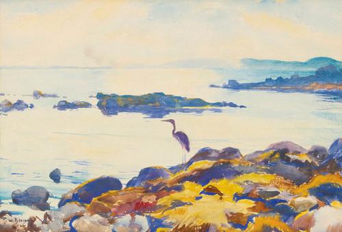 Art Prints of Western Bay by Frank Weston Benson