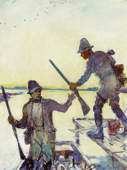 Art Prints of The Start by Frank Weston Benson