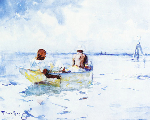 Art Prints of Souvenir of Florida by Frank Weston Benson