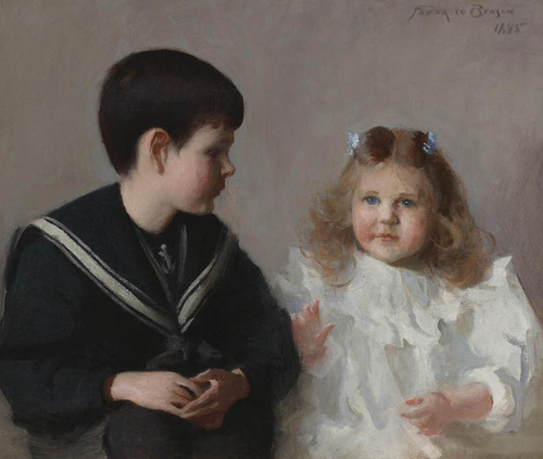 Art Prints of Katherine and Harold Walker by Frank Weston Benson