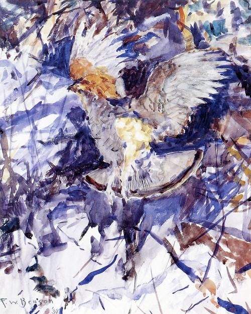 Art Prints of Grouse Rising by Frank Weston Benson