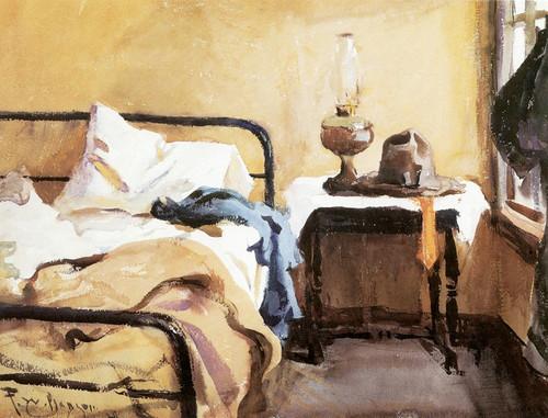 Art Prints of Fisherman's Bedroom, Eastham, Massachusetts by Frank Weston Benson