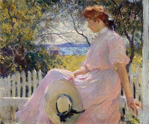Art Prints of Eleanor by Frank Weston Benson