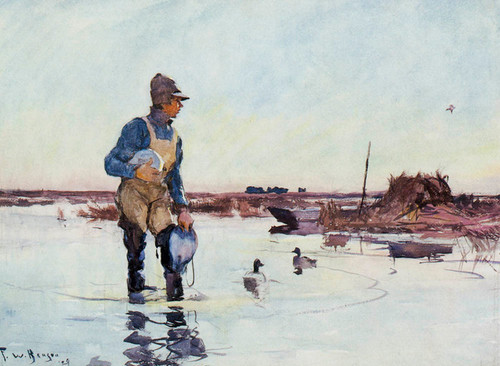 Art Prints of Early in the Morning by Frank Weston Benson
