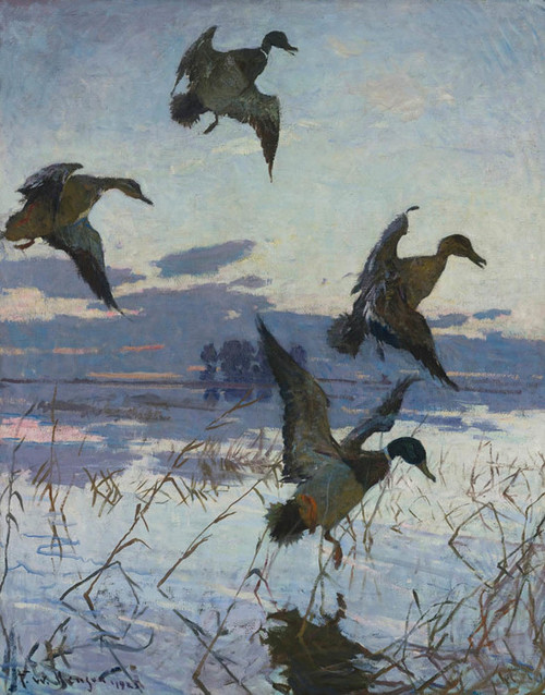 Art Prints of After Sunset, Long Point by Frank Weston Benson