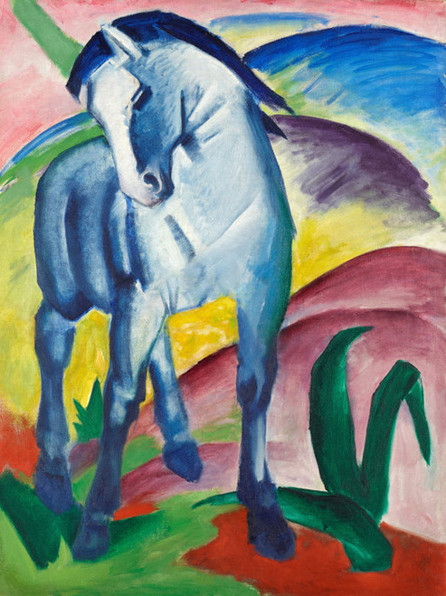 Art Prints of Blue Horse I by Franz Marc