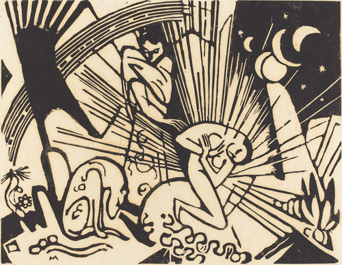 Art Prints of Reconciliation by Franz Marc