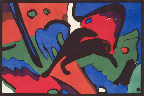 Art Prints of The Blue Rider by Franz Marc